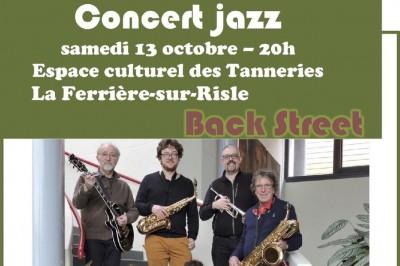 Concert jazz à La Ferriere sur Risle