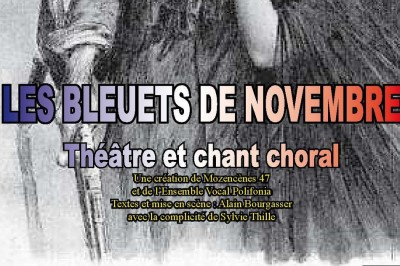 Les Bleuts de Novembre, d'Alain Bourgasser avec l'ensemble vocal Polifonia à Puch d'Agenais