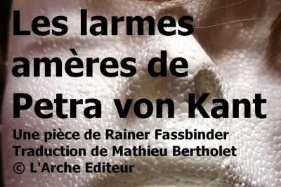 Théâtre Atelier à Coulisses présente Les larmes Amères de Petra Von Kant à Lorris