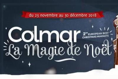Marché de Noël de Colmar 2018