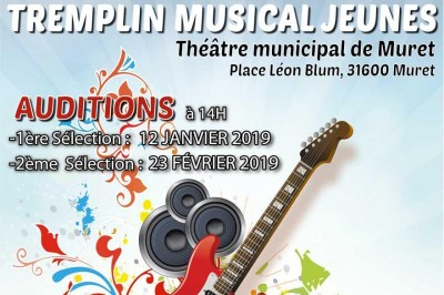 7° Tremplin Musical de Muret (1° sélection)