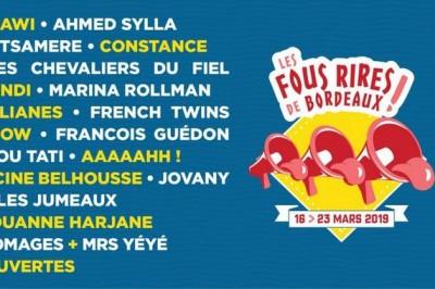Les Fous Rires de Bordeaux 2019