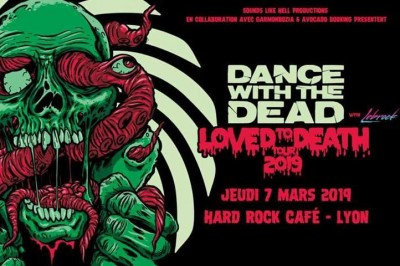 Dance With The Dead et Lebrock à Lyon (Hard Rock Cafe)