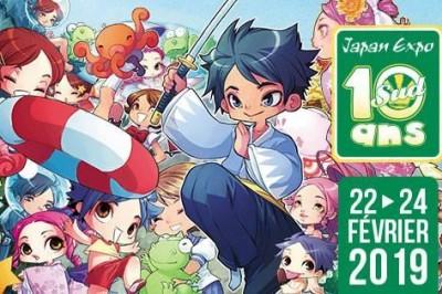 Japan Expo Sud - 10 ans - Billet journée à Marseille