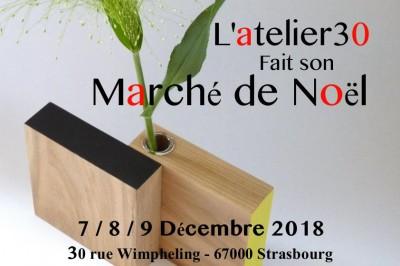 L'Atelier30 fait son Marché de Noël ! à Strasbourg