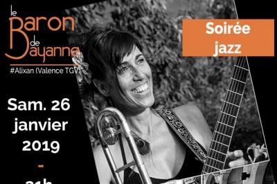 Soirée jazz chez le Baron de Bayanne avec Nita Quartet + Christine Vallin à Alixan