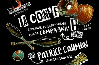 Soirée spectacle et repas des Piments à Cauvignac
