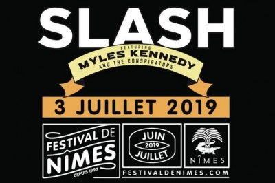 Slash ft Myles Kennedy & The Conspirators à Nimes