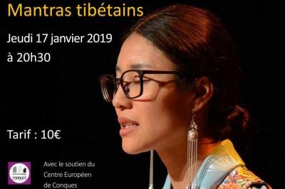 Concert exceptionnel de mantras tibétains à Conques