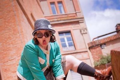 Visite d'Avignonet-Lauragais avec Miss Grumpy à Avignonet Lauragais