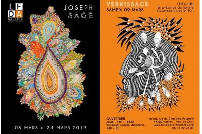 Exposition Joseph Sage à Nantes