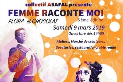 Femme Raconte-moi 5eme Édition 2019