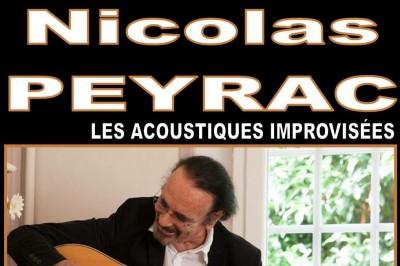Nicolas Peyrac en concert à Lablachere