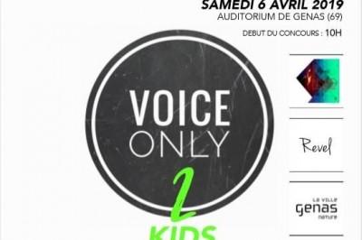 Concours Chant Voice Only Kids 2019 100% Acoustique à Genas