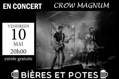 Concert Rock-Indé des Crow Magnum à La Chapelle Basse Mer
