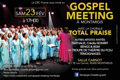 Gospel Meeting à Montargis