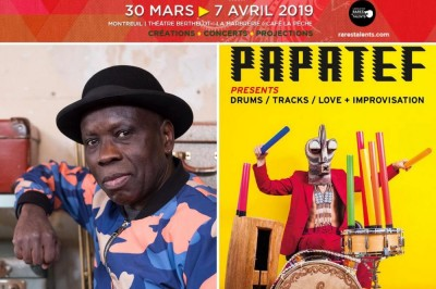 Kiala &The Afroblaster guest Fab Smith et Papatef aka Cyril Atef :: Festival Rares Talents #8 à Montreuil