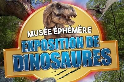 Le Musée Ephémère: Exposition de dinosaures à Carcassonne