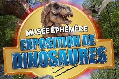 Le musée éphémère: Exposition de dinosaures à Cahors