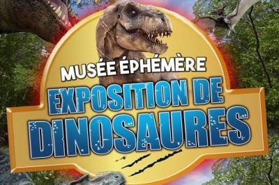 Le Musée Ephémère: Exposition de dinosaures à Montauban
