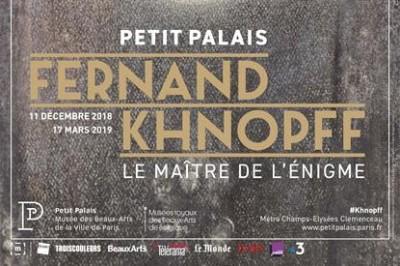Fernand Khnopff (1858 - 1921) à Paris 8ème