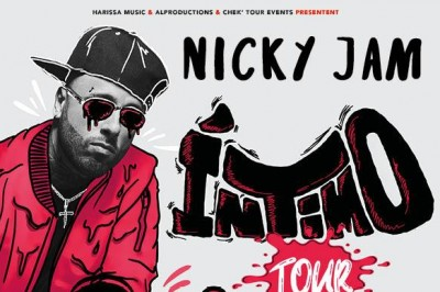 Nicky Jam à Paris 19ème