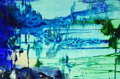 Une exposition de peintures contemporaines de Russell Boncey - L'eau et ses consorts : le vent, le ciel et leurs signes à Tourlaville