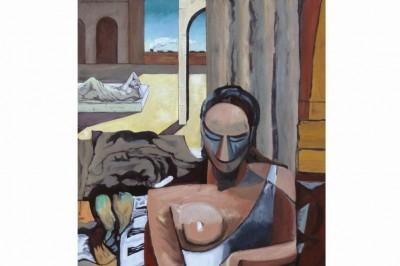 Les peintures synchronistiques de Gilles Chambon à Libourne
