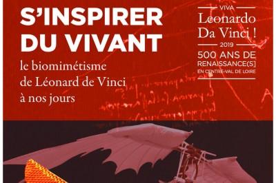 S'inspirer du vivant : le biomimétisme de Léonard de Vinci à nos jours à Romorantin Lanthenay