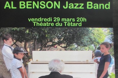 Al Benson Jazz Band à Marseille