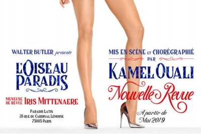 Revue Champagne - L'Oiseau Paradis à Paris 5ème