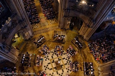 Benevolo, Polyphonies Monumentales, le Concert Spirituel à Saintes