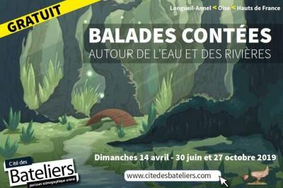 Balades contées autour de l'eau et des rivières à Longueil Annel