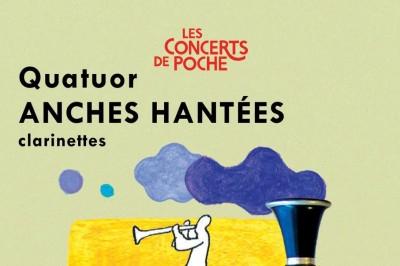 Concert De Poche - Quatuor Anches Hantées à Reims