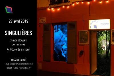 Singulières - Trois Monologues De Femmes à Montreuil