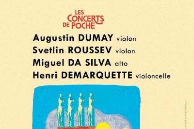 Augustin Dumay , Svetlin Roussev , Miguel Da Silva , Henri Demarquette à Soisy sur Ecole