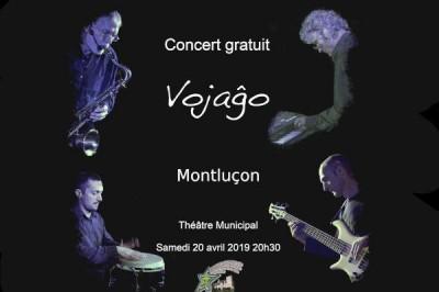 Concert du groupe Vojagxo à Montlucon