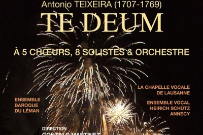 Te Deum - Antonio Teixeira à Cran Gevrier