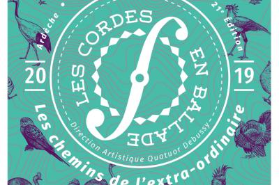 Les cordes imprévisibles - Festival Les Cordes en ballade à Viviers