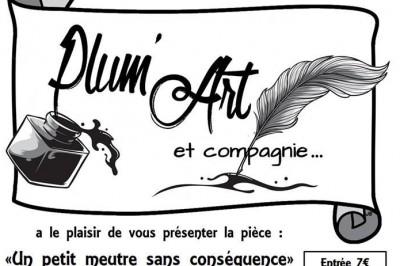 La troupe Plum'Art et compagnie sur les planches ! à Descartes