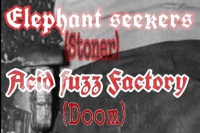 Elephant Seekers et Acid Fuzz Factory à Pagney Derriere Barine