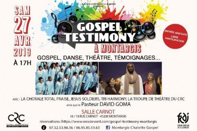 Gospel Testimony à Montargis