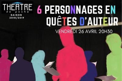 6 personnages en quête d'auteur à Saint Brieuc
