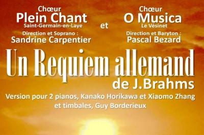Un Requiem allemand, de Johannes Brahms à Saint Germain en Laye