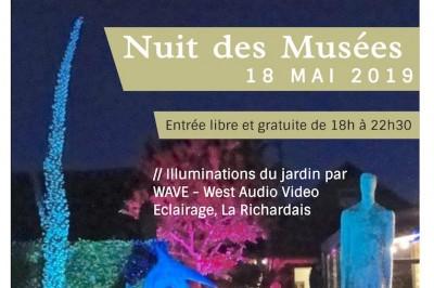 Nuit Des Musées Au Musée Et Jardin De Sculptures Manoli à La Richardais
