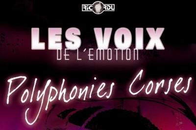 Concert polyphonique Corse à Coti Chiavari