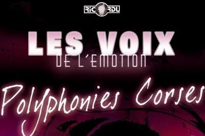 Concert polyphonique Corse à Calcatoggio