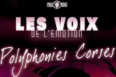 Concert polyphonique Corse à Evisa