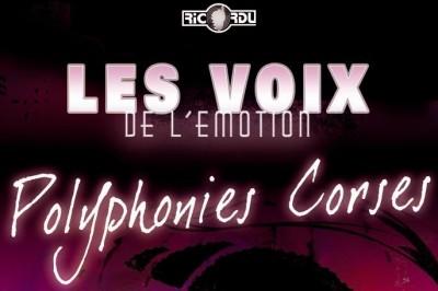 Concert polyphonique Corse à Bastelicaccia