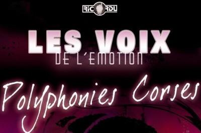 Concert polyphonique Corse à Porticcio